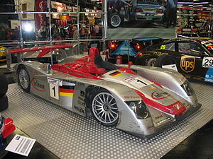 Joest Racing - Joest's successful Audi R8, winner three years in a row.