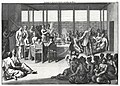 Audience with the Sultan of Batam by Cornelis de Bruyn,1711.jpg