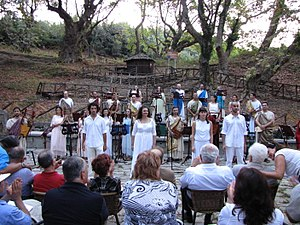 Olympus Festival - Performance at the Acropolis of Ancient Leivithra