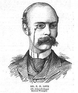 Augustus Edward Hough Love English mathematician