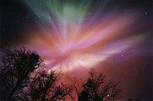 Mehrfarbiges Polarlicht