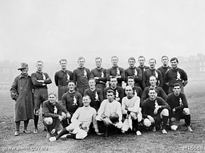 Jack Cooper (Australian rules footballer) - The Australian Training Units Team. Jack Cooper is the eighth man (seventh player) from the left, in the top row.