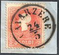 Austria Lombardy-Venetia 1858 CAVARZERE.jpg