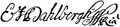 Autograf, Eric Dahlberg, Nordisk familjebok.png