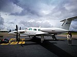 Avió Piper PA-42 Cheyenne III a l'aeroport de Chachapoyas.jpg