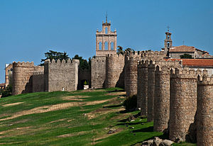 Walls of Ávila - Image: Avila 01