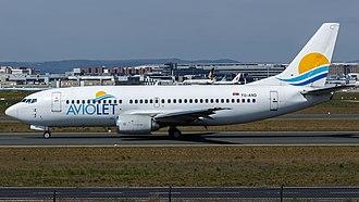 Air Serbia - An Aviolet Boeing 737-300
