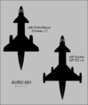 Avro 691 top-view silhouettes.png