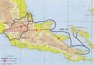 Battle of Goodenough Island - Image: Axes of Advance, Papuan Campaign