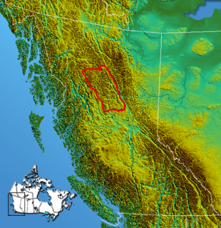 Omineca Mountains Subrange of the Interior Mountains in British Columbia, Canada
