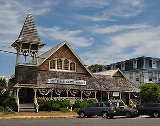National Register of Historic Places listings in Ocean County, New Jersey - Image: BEACH HAVEN HISTORIC DIST. OCEAN COUNTY, NJ