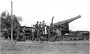 BL 9.2 inch Railway Gun Maricourt September 1916