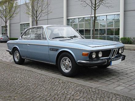 9//66 2000cs 02-2000ti PROSPEKT BMW il programma della nuova classe
