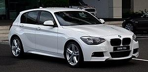 Inokom - Image: BMW 116i M Sportpaket (F20) – Frontansicht, 24. Juni 2012, Düsseldorf