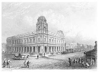 General Post Office, Melbourne - Image: BOOTH(1873) 1.189 POST OFFICE, MELBOURNE