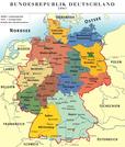 Karte der Bundesrepublik Deutschland