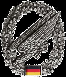 Fallschirmj/äger Soldat Falli Bundeswehr Heer Gl/ück Ab BUND Langarmshirt