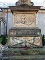 Babice (OL), kříž u kostela, detail (1).jpg