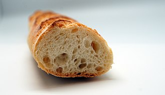 European cuisine - French baguette