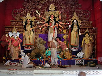 Hinduism in West Bengal - Durga Puja, the biggest festival