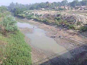Bakulahi River - Image: Bakulahi River, Katra Gulab Singh