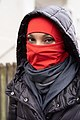 Balaclava with modern cut in red made of thin fabric with polar fleece on the inside.jpg