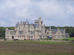 Balfour, Orkney - Balfour is dominated by its castle