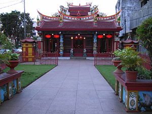 Ban Hin Kiong Temple - the temple, 2009