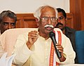 Bandaru Dattatreya addressing the press conference on DigiDhan Mela & Lucky Grahak Yojana, (Scheduled to be held on 18th January in Hyderabad) in Hyderabad.jpg