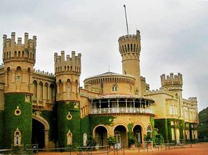 History of Bangalore - Bangalore Palace, built in 1887, was home to the rulers of Mysore