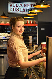 Baristka COSTA COFFEE.JPG