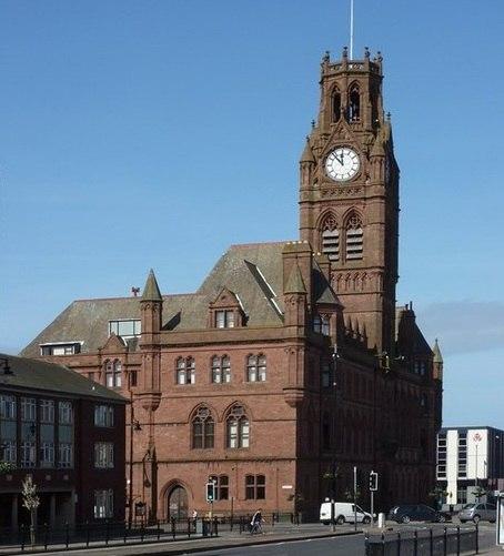 Barrow town hall, April 2011