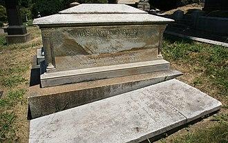 Washington Bartlett - Image: Bartlett grave