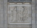 Bas relief. Federal Building and U.S. Courthouse, Asheville, North Carolina LCCN2014630040.tif