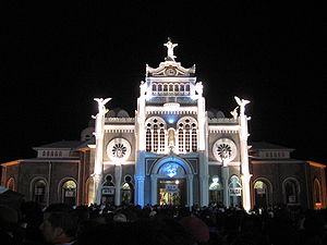 Church of the Virgin of the Angels during 2007...