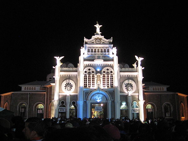 La Basilica de los Angeles, Cartago.