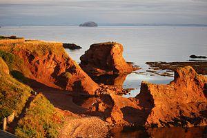 Dunbar - Bass Rock from Dunbar