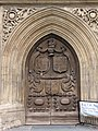 Bath Abbey. Старые ворота. - panoramio.jpg