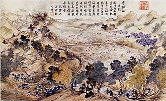 Battle of Ngọc Hồi-Đống Đa - Battle of the River Thị Cầu (Cầu River)