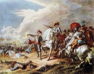 The Shortest Way with the Dissenters - The English Civil War (Battle of Naseby pictured) is one of the events the Dissenters are accused of being culpable in.