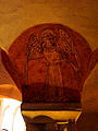 Bayeux (14) Cathédrale Crypte Ange musicien 13.JPG