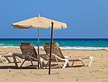 Beach chairs - Playa del Matorral.jpg