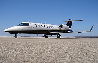 Learjet 45 - on ground