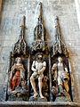 Beauvais (60), église Saint-Étienne, retable de sainte Marthe, XVIe s..JPG
