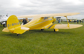 Beechcraft Model 17 Staggerwing - 1943 Beech D.17S Staggerwing