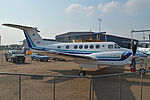 Beech 300 Super King Air '653' (16865463065).jpg