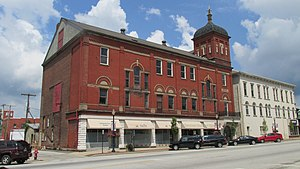 National Register of Historic Places listings in Highland County, Ohio - Image: Bell Opera House