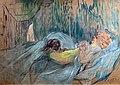 Bemberg Fondation Toulouse - Maison de la rue des Moulins, Rolande - Henri de Toulouse-Lautrec 1894 - Peinture à l'essence sur carton - 52.1x71.1.jpg