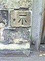 Benchmark on gatepost next to The Original Swan - geograph.org.uk - 2114776.jpg