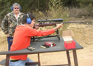 Benchrest Shooting With A Mauser Rifle